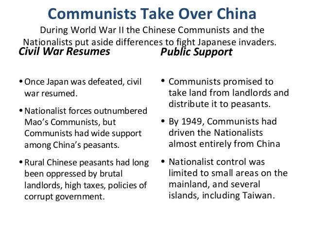 5 communism in china
