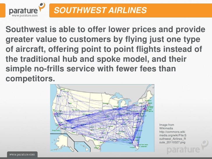 Southwest Airlines Cheap Flights - Hub And Spoke Or Point To Point