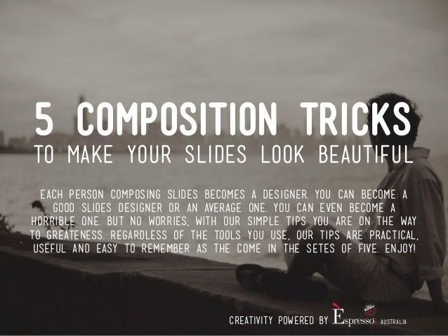 make slide
