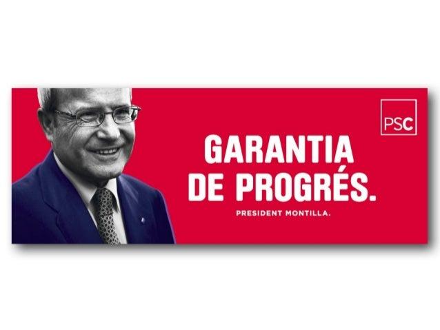 El 5 compromisos del president Montilla amb Catalunya