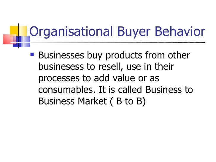 buyer behavior typical decision making processes Lo 2 analyze the components of the consumer decision-making process that affect consumer buying decisions lhm_ch05_62-81qxp 1/2 consumer behavior processes.