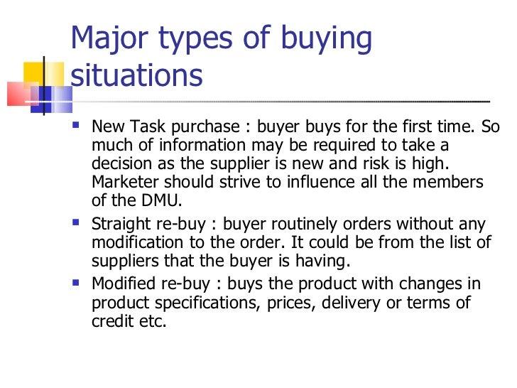 new task buying