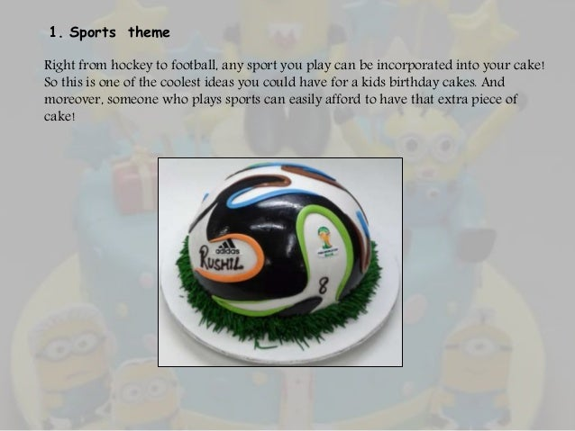 Brilliant 5 Cool Ideas For Kids Birthday Cakes Personalised Birthday Cards Arneslily Jamesorg