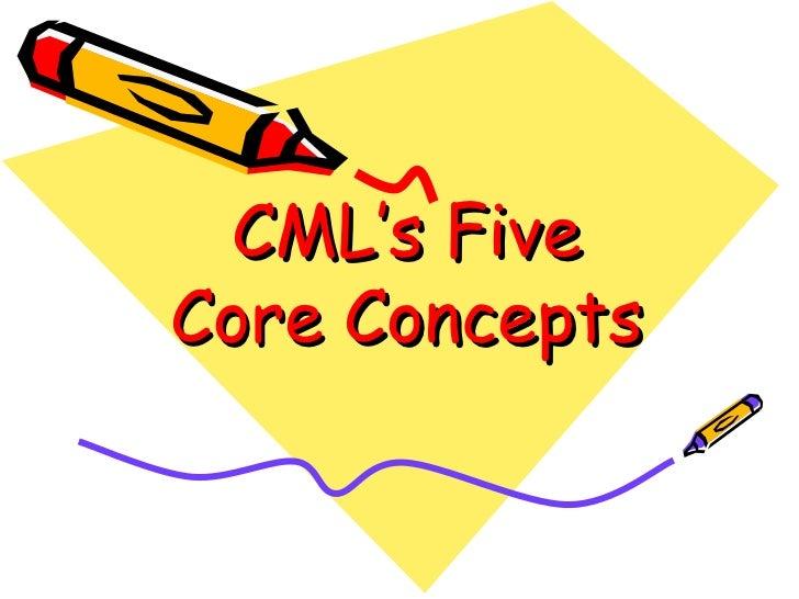 CML's Five Core Concepts