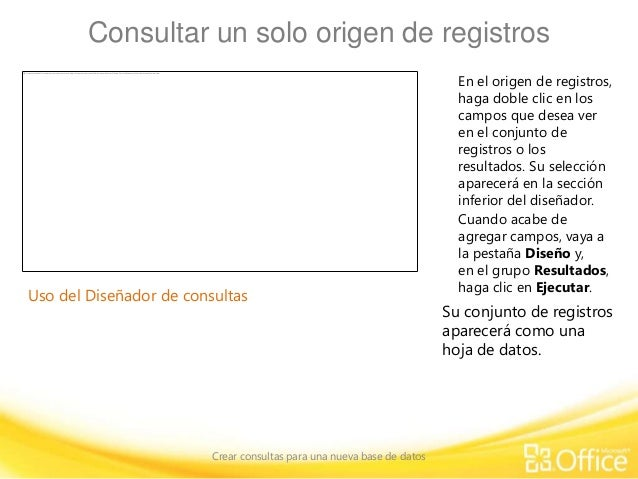 5 crear consultas training presentation create queries for Consul database