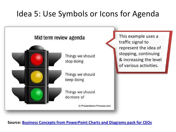 5 creative presentation agenda ideas, Modern powerpoint