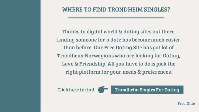 Dating Trondheim