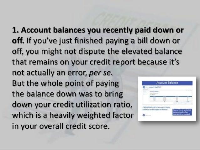 5  credit report errors you must fix Slide 2