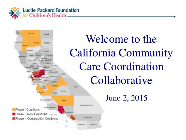 Welcome to the California Community Care Coordination Collaborative June 2, 2015