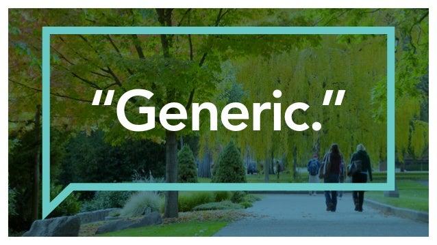 """""""Generic."""""""