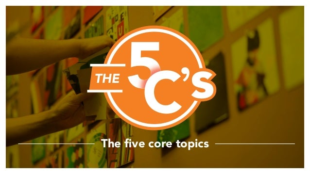 The five core topics 'sTHE