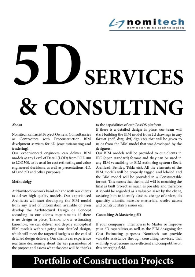 Nomitech: 5D Services & Consulting