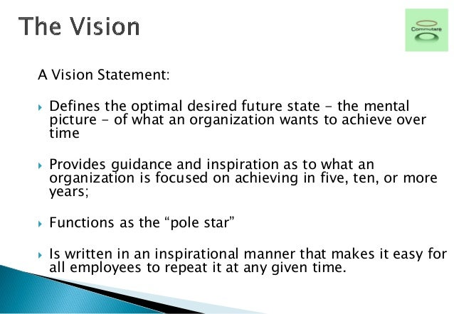 vision statement provides inspirational guidance Resources your vision as a psychology practitioner-scholar  drafts of a vision statement,  vision is to create an inspirational and realistic.