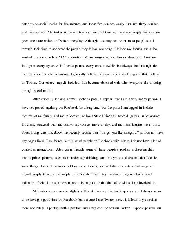 narrative essay thesis