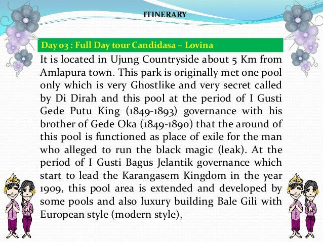 It is located in Ujung Countryside about 5 Km from Amlapura town. This park is originally met one pool only which is very ...