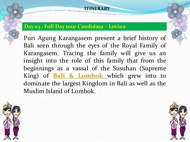 Puri Agung Karangasem present a brief history of Bali seen through the eyes of the Royal Family of Karangasem. Tracing the...