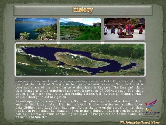 5d4n Medan Samosir Island Berastagi Tour Package