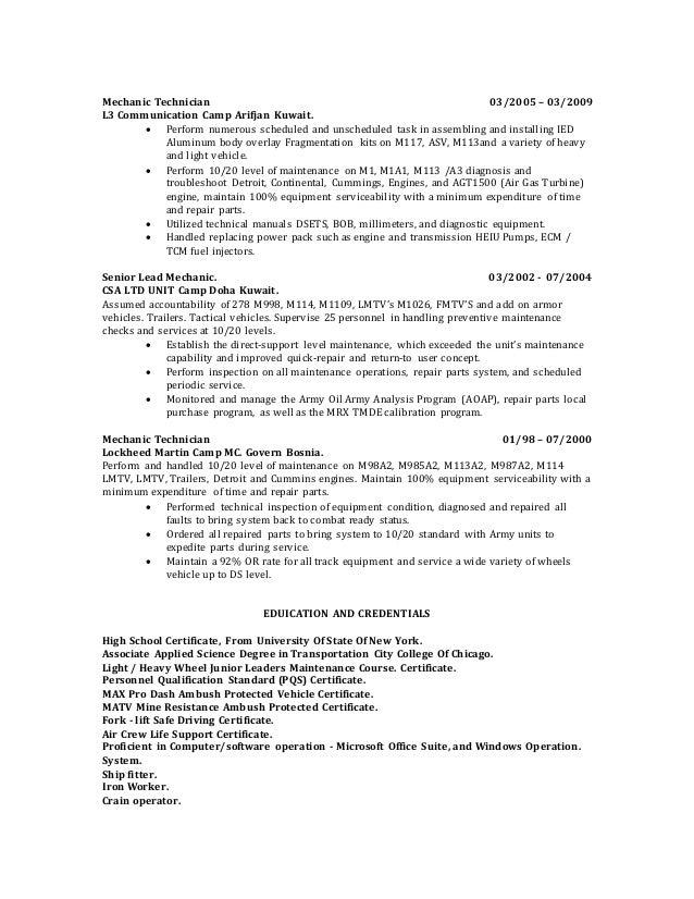 Hsl Resume