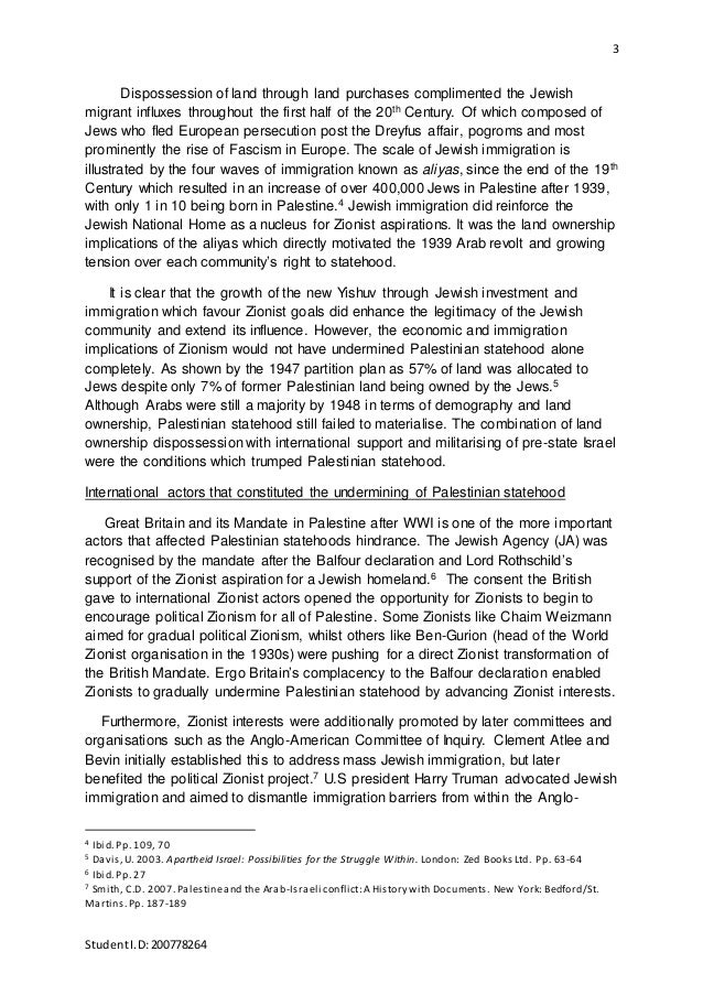 Essay About Palestine Timeline Of The Name