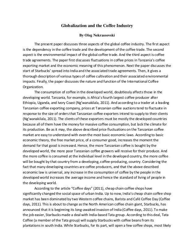 globalization in the music industry essay Creativity at work: on the globalization of the film industry by mark lorenzen february 2008 p.