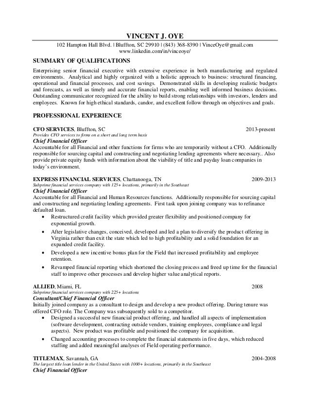 Awesome Savannah Accounting Resume Photos - Best Resume Examples and ...
