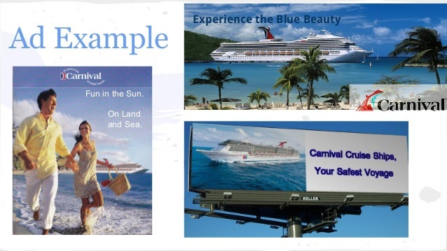 Creative Pitch Presentation - Example of cruise ship
