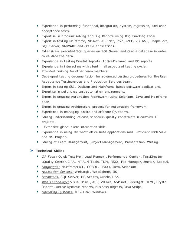 Rajasekar Resume Qa