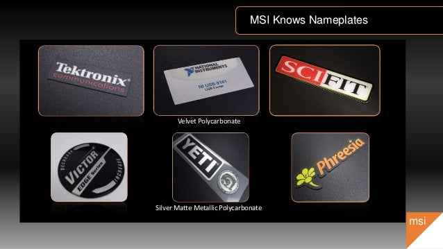 Msi Sales Presentation 2015