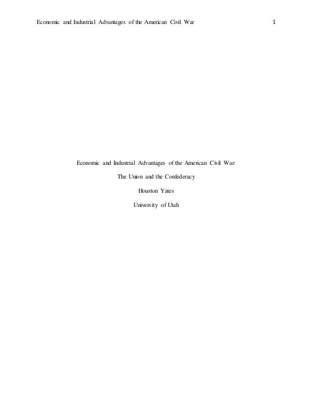 american civil war research paper If you want to write a solid paper on the topic of american civil war, feel free to read this proofread essay sample that can certainly help you out.
