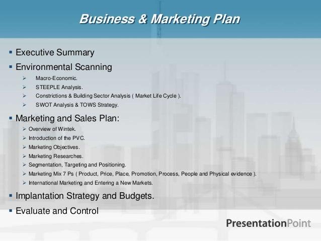 Wintek Marketing Plan Pdf