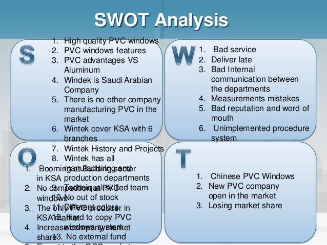 Bordon's Construction Company SWOT Analysis
