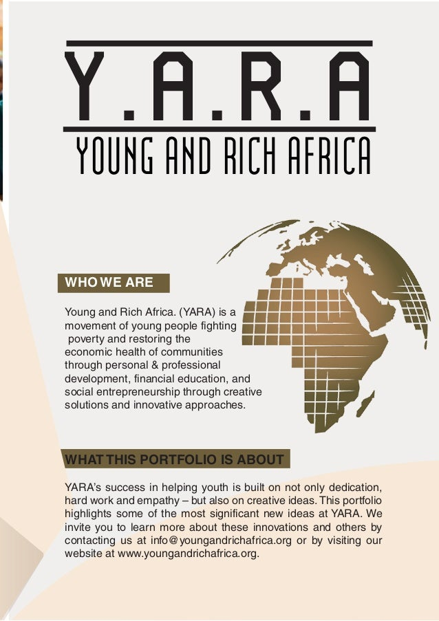 YOUNG AND RICH AFRICA- email copy