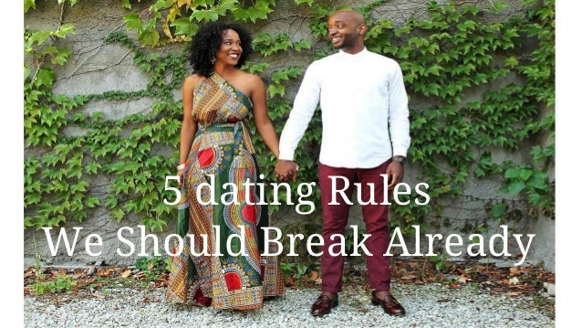 How to break a dating pattern