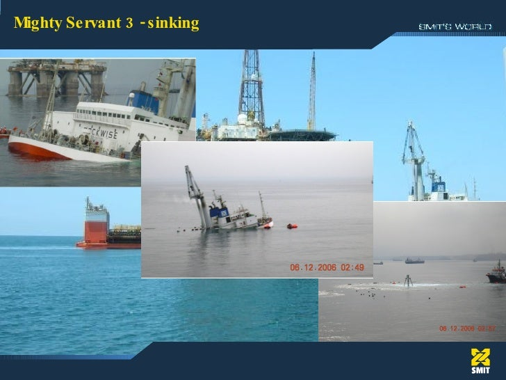 Mighty Servant 3 - sinking