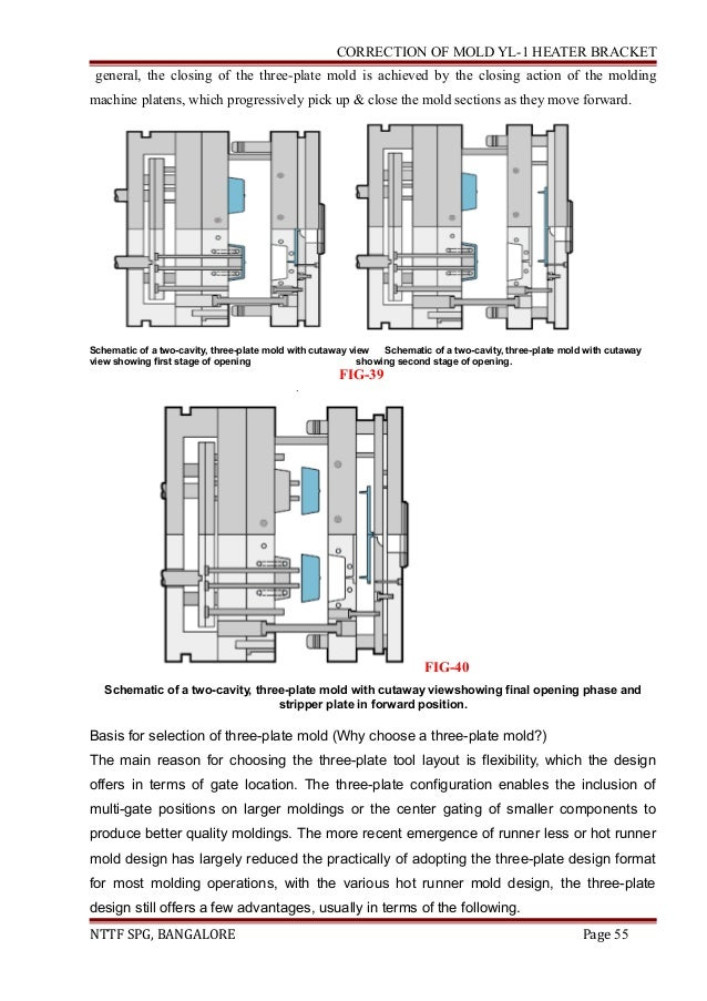 Three plate mould design pdf