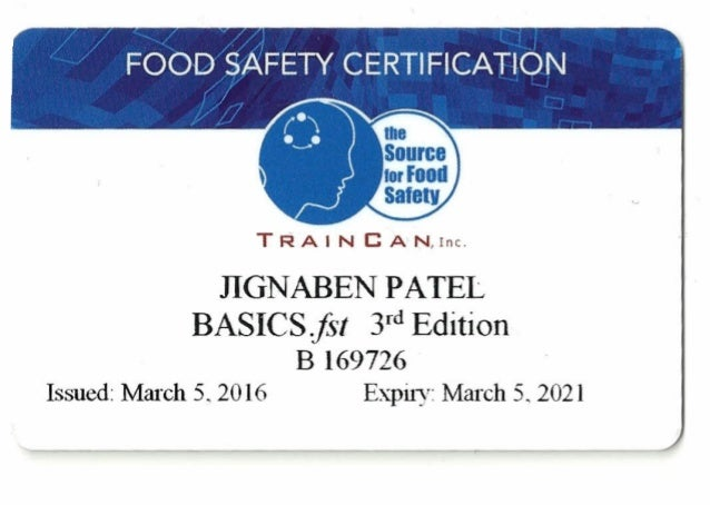 safety certification slideshare 2021 upcoming