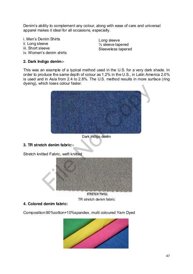 denim fabric project nikita