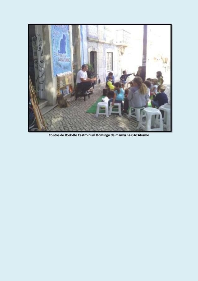Contos de Rodolfo Castro num Domingo de manhã na GATAfunho
