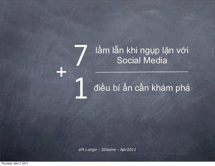 +                            7       lầm lẫn khi ngụp lặn với                                          Social Media       ...