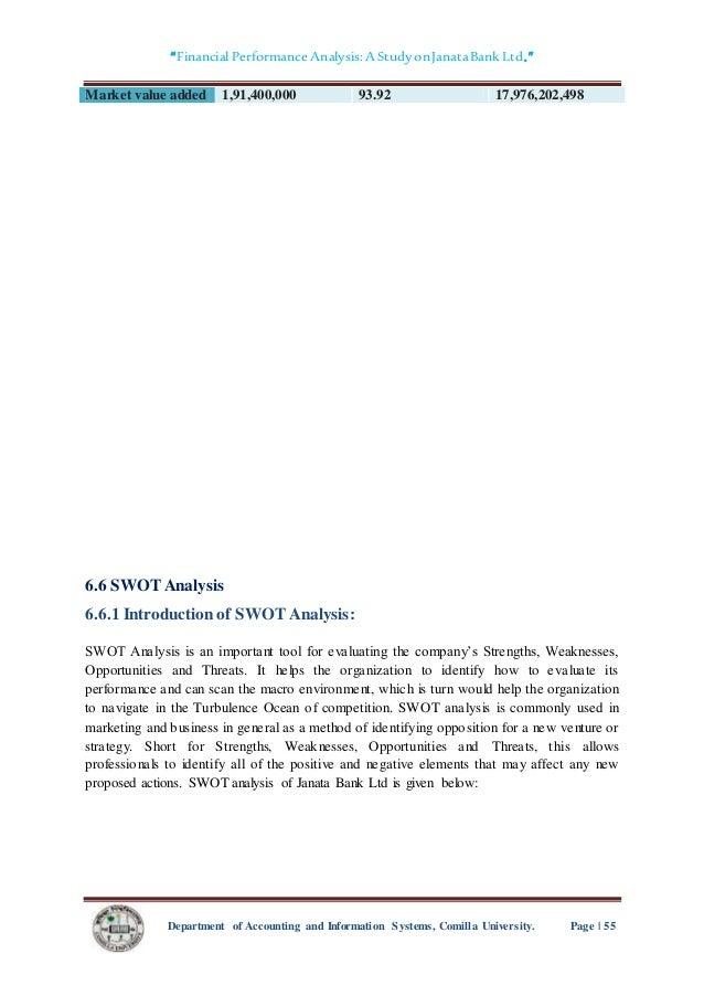 Janata Cooperative Society Ltd SWOT Analysis
