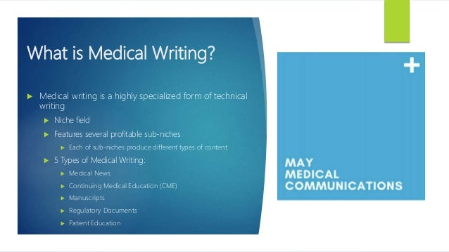 5 Different Types of Medical Writing Slide 2