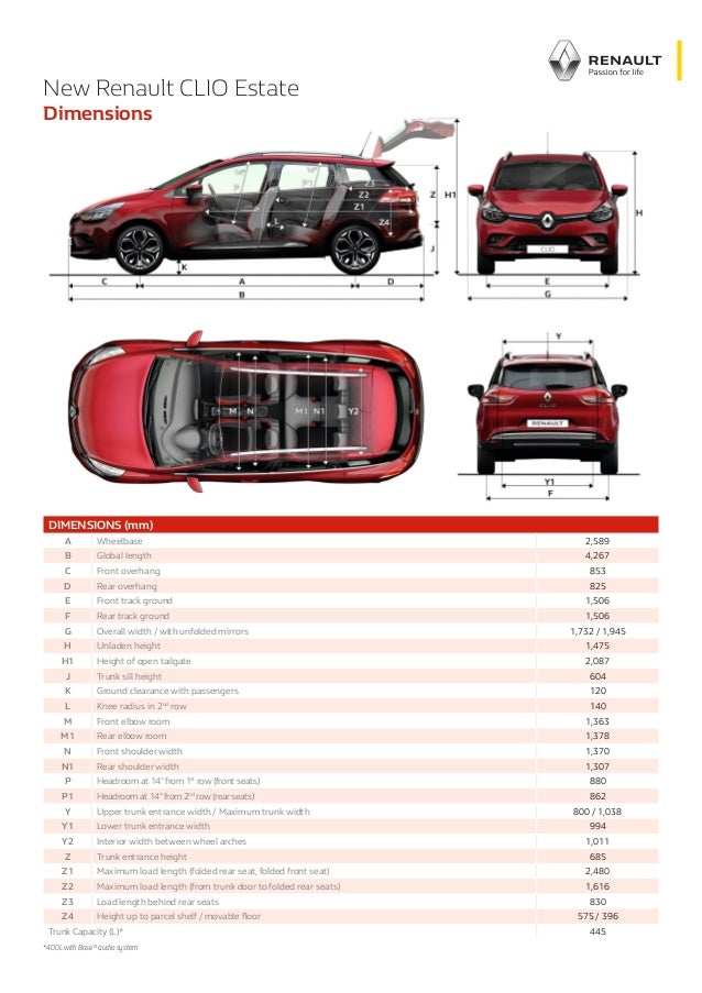 dimension clio 4 dimensions clio 4 eric thericou photos club renault clio sizes and dimensions. Black Bedroom Furniture Sets. Home Design Ideas
