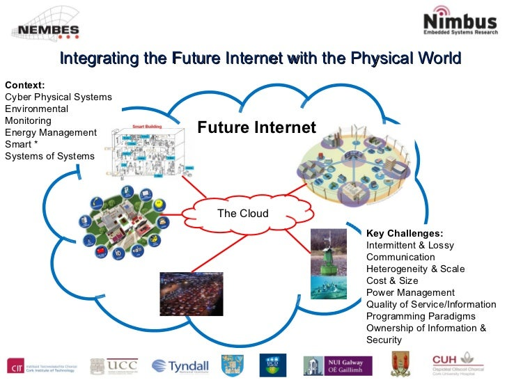 Integrating the Future Internet with the Physical World Context: Cyber Physical Systems Environmental Monitoring Energy Ma...