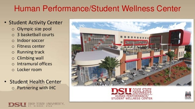 Dixie State University – Performance/Student Wellness Center on
