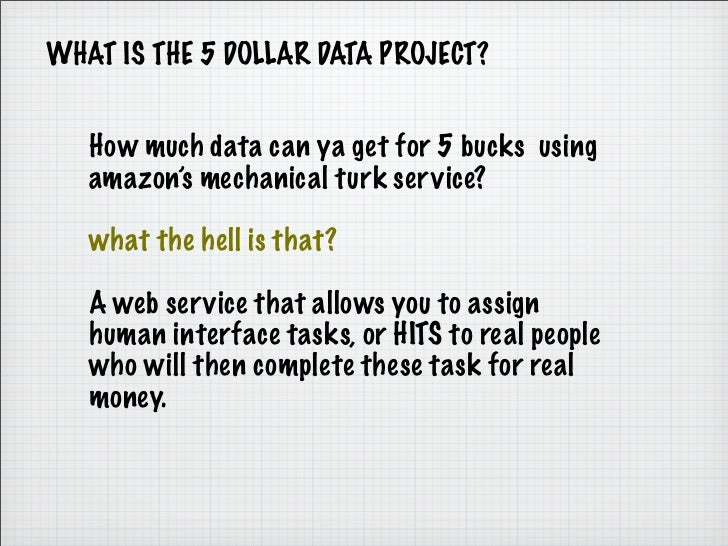 5 Dollar Data Updated Slide 2