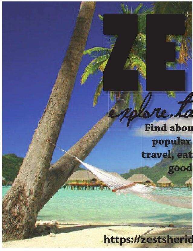 ZEexplore.ta Find abou popular travel, eat good https://zestsherid