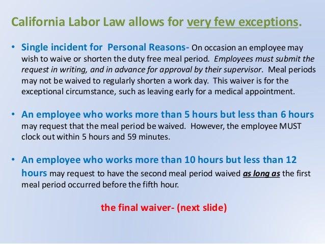 Employee Training on California Labor Law