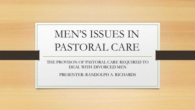 Divorced men issues