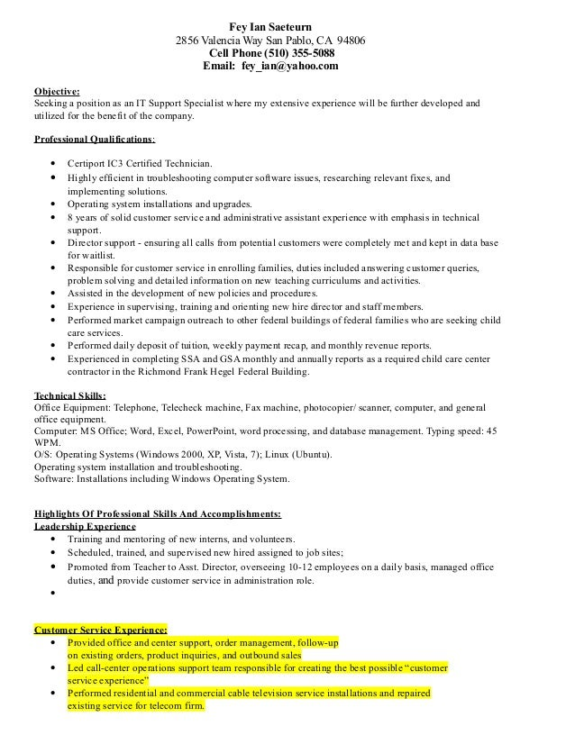 How To Mention Typing Skill In Resume