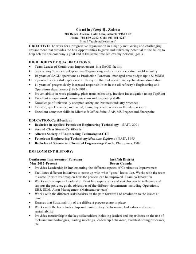 CamZoleta\'s Resume-Nov 2014